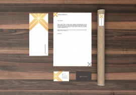 Branding project for an interior design and construction company.