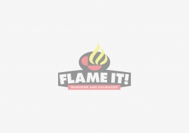 Providing marketing tools and designs for Flame It Burgers, one of Cebu's best tasting burger.